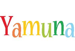 Yamuna birthday logo