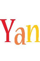 Yan birthday logo