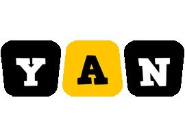 Yan boots logo