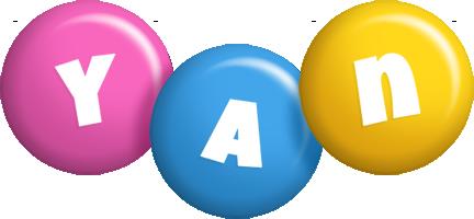 Yan candy logo