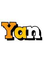 Yan cartoon logo