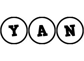 Yan handy logo