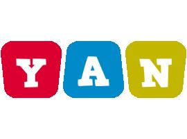 Yan kiddo logo