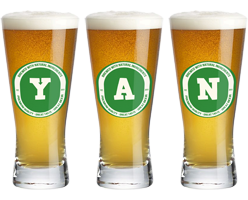 Yan lager logo