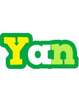 Yan soccer logo