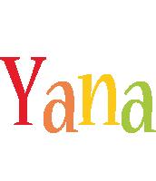 Yana birthday logo