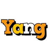Yang cartoon logo