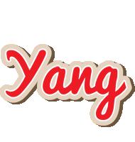 Yang chocolate logo