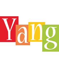 Yang colors logo