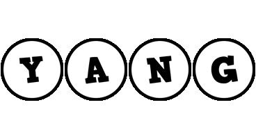 Yang handy logo