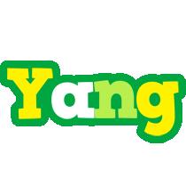 Yang soccer logo