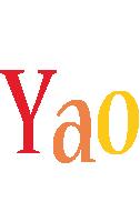 Yao birthday logo