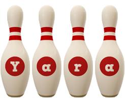 Yara bowling-pin logo