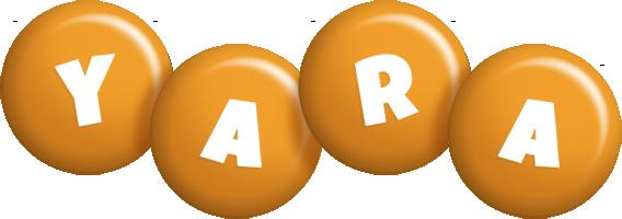 Yara candy-orange logo