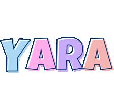 Yara pastel logo