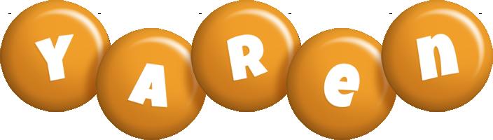Yaren candy-orange logo