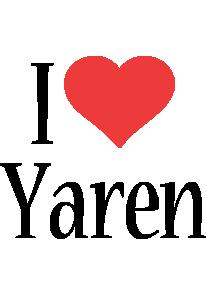 Yaren i-love logo