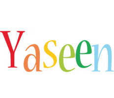 Yaseen birthday logo