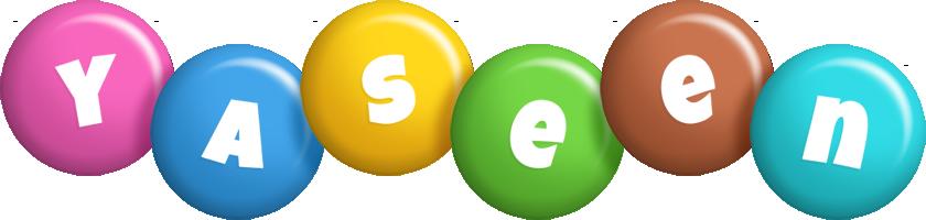 Yaseen candy logo