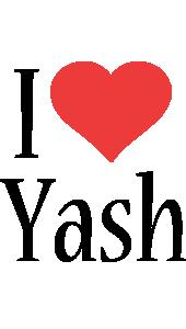 Yash i-love logo