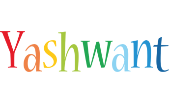 Yashwant birthday logo