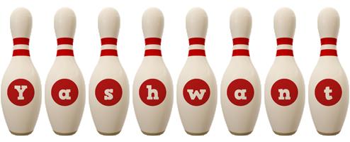 Yashwant bowling-pin logo