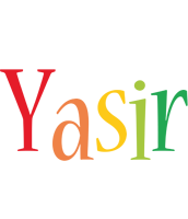 Yasir birthday logo