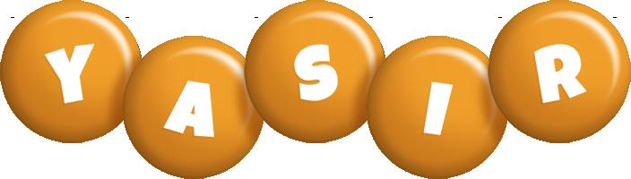 Yasir candy-orange logo