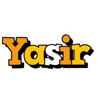 Yasir cartoon logo