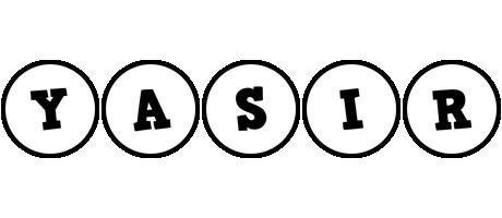 Yasir handy logo