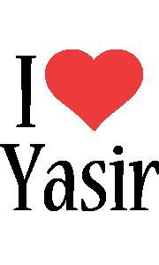 Yasir i-love logo