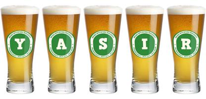 Yasir lager logo