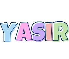 Yasir pastel logo