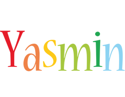 Yasmin birthday logo