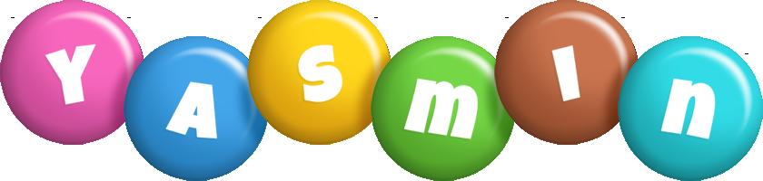 Yasmin candy logo
