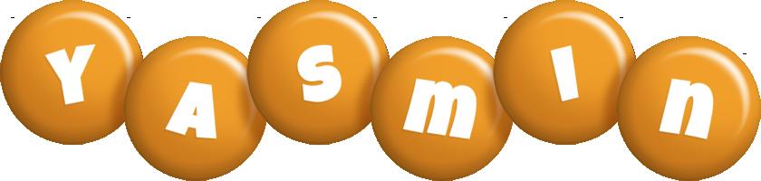 Yasmin candy-orange logo