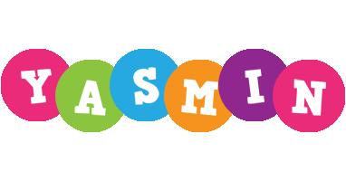 Yasmin friends logo