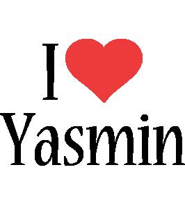 Yasmin i-love logo