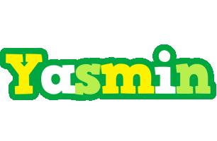 Yasmin soccer logo
