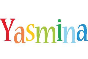Yasmina birthday logo