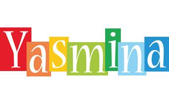 Yasmina colors logo