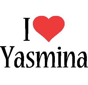 Yasmina i-love logo