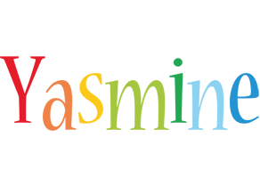 Yasmine birthday logo