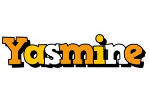 Yasmine cartoon logo