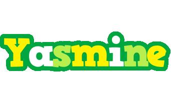 Yasmine soccer logo