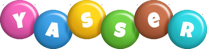 Yasser candy logo