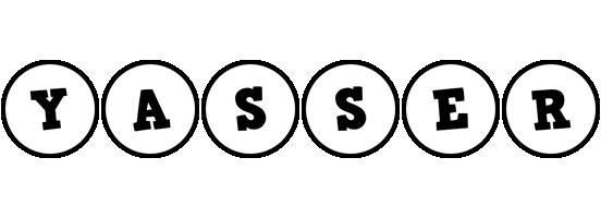 Yasser handy logo