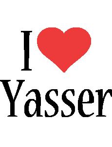 Yasser i-love logo