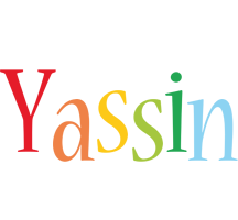 Yassin birthday logo