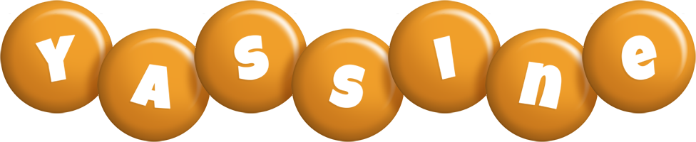 Yassine candy-orange logo